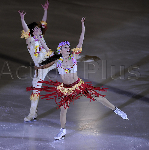 21.12.2009 Figure Skating Championships from Mannheim in Germany. Picture shows Christina Beier and William Beier.