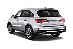 Car pictures of rear three quarter view of 2017 Acura MDX SH-AWD Advance & Entertainment Package 5 Door SUV angular rear