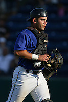 August 9 2009: Chris Rosenbaum of the Rancho Cucamonga Quakes during game against the San Jose Giants at The Epicenter in Rancho Cucamonga,CA.  Photo by Larry Goren/Four Seam Images