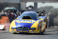 Sept. 23, 2012; Ennis, TX, USA: NHRA funny car driver Ron Capps during the Fall Nationals at the Texas Motorplex. Mandatory Credit: Mark J. Rebilas-US PRESSWIRE