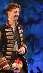 Christian Borle.during the Broadway Opening Night Performance Curtain Call for 'Peter And The Starcatcher' at the Brooks Atkinson Theatre on 4/15/2012 in New York City.