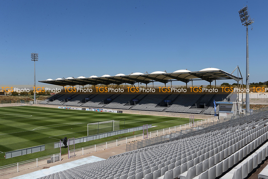 General view of Stade Parsemain, Fos-sur-Mer during England Under-18 vs Scotland Under-20, Toulon Tournament Semi-Final Football at Stade Parsemain on 8th June 2017