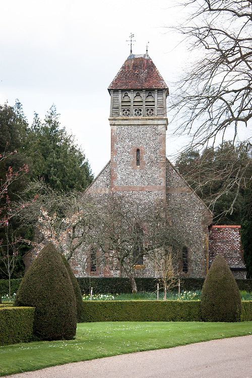 All Saints Church, Hinton Ampner, Hampshire.