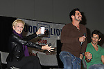 Maura West, Don Diamont, Brandon Beemer at the Soapstar Spectacular starring actors from OLTL, Y&R, B&B and ex ATWT & GL on November 20, 2010 at the Myrtle Beach Convention Center, Myrtle Beach, South Carolina. (Photo by Sue Coflin/Max Photos)