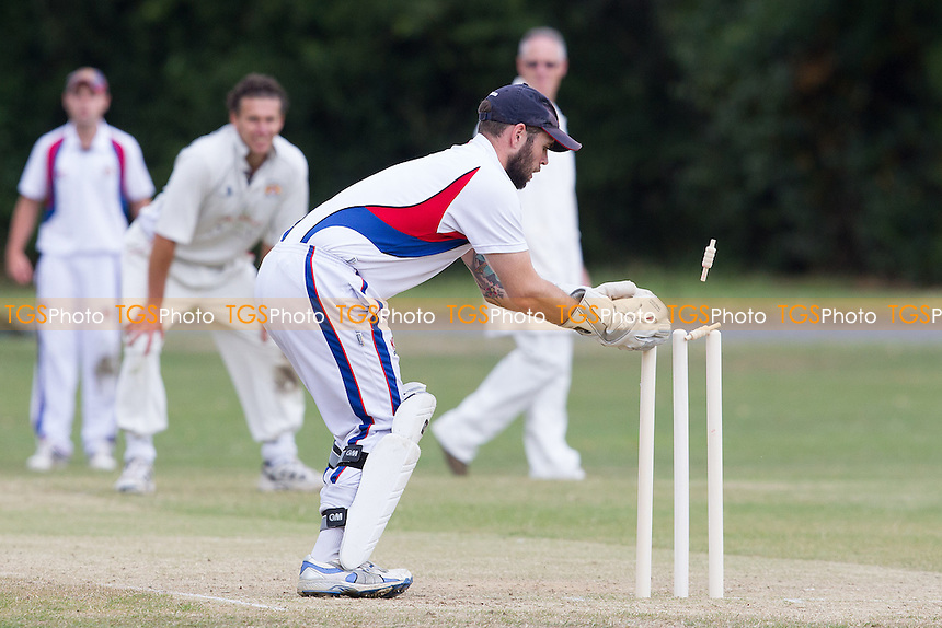 - Hornchurch Athletic CC 2nd XI vs Brookweald CC - Mid-Essex Cricket League at Hylands Park - 05/07/14 - MANDATORY CREDIT: TGSPHOTO - Self billing applies where appropriate - 0845 094 6026 - contact@tgsphoto.co.uk - NO UNPAID USE