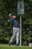 Thomas Pieters (BEL) watches his tee shot on 2 during round 3 of the World Golf Championships, Mexico, Club De Golf Chapultepec, Mexico City, Mexico. 3/3/2018.<br /> Picture: Golffile | Ken Murray<br /> <br /> <br /> All photo usage must carry mandatory copyright credit (&copy; Golffile | Ken Murray)