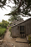 USA, California, Big Sur, Esalen, the Point Houses at the Esalen Institute