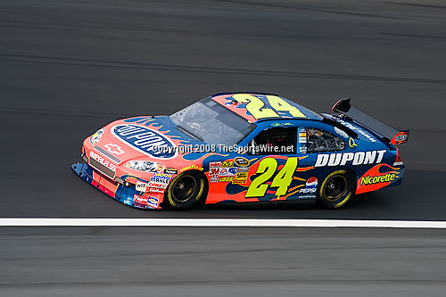 10/10/2008; 4:46:11 PM; Concord, NC, USA; Nascar Sprint Cup Series practice for the Bank of America 500 at Lowe's Motor Speedway. Mandatory Credit: Joey Millard. .