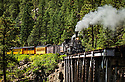 Durango and Silverton RR Trip.  With Joe Brady / Telluride scenics.  Ouray, Colorado, Switzerland America from Look Out :oint. Photo by Bob Laramie