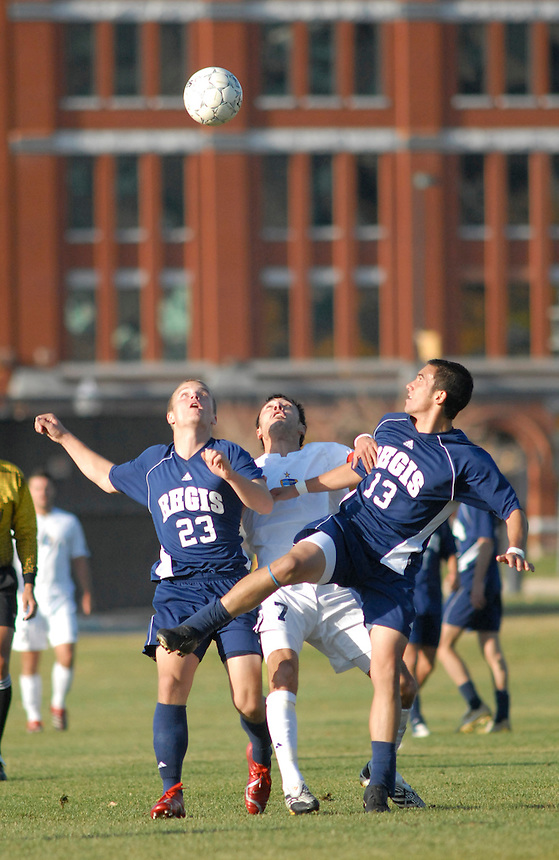Rocky Mountain Athletic Conference Division II college soccer action - Fort Lews College v Regis University.