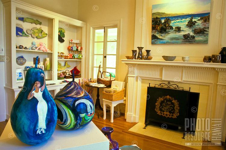 Hui Noeau Visual Arts Center gift shop, Upcountry Maui