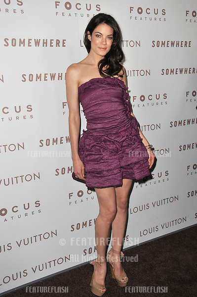 "Michelle Monaghan at the Los Angeles premiere of her new movie ""Somewhere"" at the Arclight Theatre, Hollywood..December 7, 2010  Los Angeles, CA.Picture: Paul Smith / Featureflash"