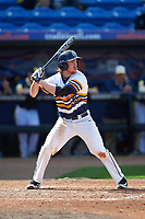 Canisius College Golden Griffins third baseman Liam Wilson (33) at bat during the second game of a doubleheader against the Michigan Wolverines on February 20, 2016 at Tradition Field in St. Lucie, Florida.  Michigan defeated Canisius 3-0.  (Mike Janes/Four Seam Images)