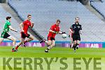 Pa Kilkenny Glenbeigh Glencar in action against  Rock Saint Patricks in the Junior Football All Ireland Final in Croke Park on Sunday.