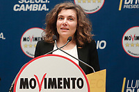 Laura Orrico<br /> <br /> Roma 29/01/2018. Presentazione dei candidati nelle liste uninominali del Movimento 5 Stelle.<br /> Rome January 29th 2018. Presentation of the candidates for Movement 5 Stars.<br /> Foto Samantha Zucchi Insidefoto