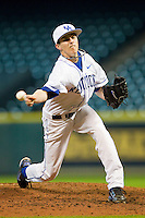 Relief pitcher Nick Kennedy #14 of the Kentucky Wildcats in action against the Houston Cougars at Minute Maid Park on March 5, 2011 in Houston, Texas.  Photo by Brian Westerholt / Four Seam Images