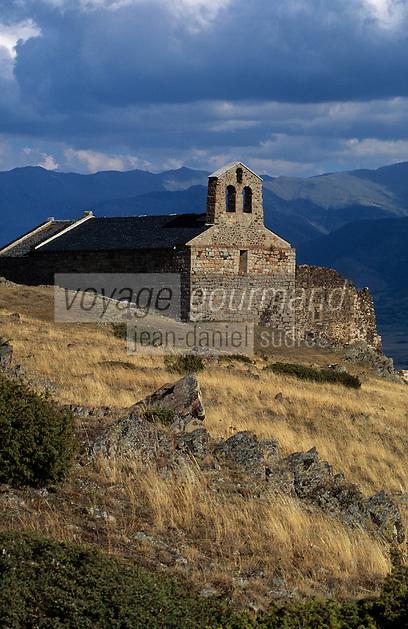 Europe/France/Languedoc-Roussillon/66/Pyrénées-Orientales/Env de Dorres: La chapelle de Bellach