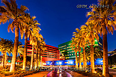 Tom Mackie, LANDSCAPES, LANDSCHAFTEN, PAISAJES, photos,+America, California, LA, Los Angeles, North America, Pacific Design Center, Tom Mackie, USA, architectural, architecture, blu+e, blue hour, building, buildings, color, colorful, colour, colourful, green, horizontal, horizontals, landscape, landscapes,+modern architecture, night time, palm tree, palmtree, red, time of day, twilight,America, California, LA, Los Angeles, North+America, Pacific Design Center, Tom Mackie, USA, architectural, architecture, blue, blue hour, building, buildings, color, c+,GBTM170234-1,#L#, EVERYDAY