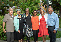 Alumni Seal Awards at Collins House.<br /> Occidental College hosts its annual Alumni Reunion Weekend, June 22-24, 2018 on campus. This year, alumni from the classes of 1968, 1973, 1978, 1983, 1988, 1993, 1998, 2003, 2008 and 2013 gathered to reconnect with friends and family in the Oxy community.<br /> (Photo by Marc Campos, Occidental College Photographer)