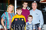 Enjoying a night out in Denny Lane on Saturday night.<br /> L-r, Ronan Mulrooney, Ryan, Catherine, Ann and Padraig O&rsquo;Carroll