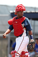 GCL Nationals Andruth Ramirez #6 during a game against the GCL Mets at the Washington Nationals Minor League Complex on June 20, 2011 in Melbourne, Florida.  The Nationals defeated the Mets 5-3.  (Mike Janes/Four Seam Images)