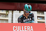 Jean-Pierre Drucker (LUX) Bora-Hansgrohe at sign on before the start of Stage 4 of La Vuelta 2019 running 175.5km from Cullera to El Puig, Spain. 27th August 2019.<br /> Picture: Eoin Clarke | Cyclefile<br /> <br /> All photos usage must carry mandatory copyright credit (© Cyclefile | Eoin Clarke)