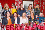 Enjoying the evening in Cassidys on Saturday.<br /> Seated l to r: Mary Kinsella, Sandra O'Sullivan, Courtney Hurley, Audrey Wallace and Eilish Teehan.<br /> Back l to r: Susan Maher, Katie Horan, Dawn Mitchell, Jean and Lisa O'Shea