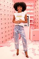 NEW YORK  NY- APRIL 6: Yara Shahidi at Beautycon Festival NYC 2019 Day 1 at the Javits Center in New York City on April 6, 2019.      <br /> CAP/MPI/WG<br /> &copy;WG/MPI/Capital Pictures