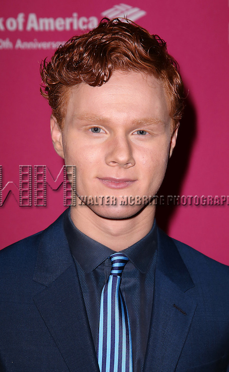 Nicholas Barasch attends the Broadway Opening Night Performance press reception for 'She Loves Me' at Studio 54 on March 17, 2016 in New York City.
