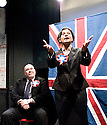 A Day at thye Racists by Anders Lustgarten,directed by Ryan McBryde.With Nick Holder as Richard Coleman,Thusitha Jayasundera as Gina White.Opens at The Finborough Theatre on 4/3/10 Credit Geraint Lewis