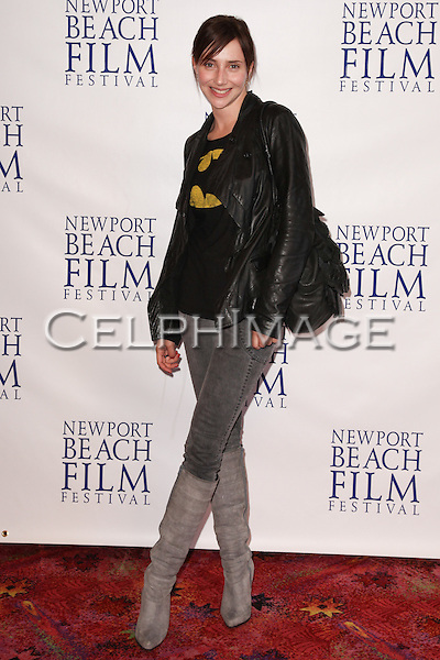 "ALEXIS RABEN. Red Carpet arrivals to the World Premiere of ""Tug,"" presented on the final evening of the 2010 Newport Beach Film Festival. Newport Beach, CA, USA. April 29, 2010."