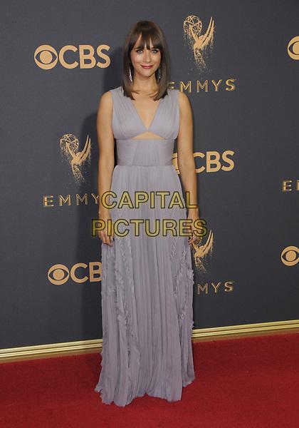 17 September  2017 - Los Angeles, California - Rashida Jones. 69th Annual Primetime Emmy Awards - Arrivals held at Microsoft Theater in Los Angeles. <br /> CAP/ADM/BT<br /> &copy;BT/ADM/Capital Pictures