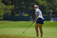Brittany Lang (USA) watches her putt on 4 during round 1 of the 2019 US Women's Open, Charleston Country Club, Charleston, South Carolina,  USA. 5/30/2019.<br /> Picture: Golffile | Ken Murray<br /> <br /> All photo usage must carry mandatory copyright credit (© Golffile | Ken Murray)