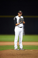 Quad Cities River Bandits relief pitcher Zac Person (21) during a game against the Bowling Green Hot Rods on July 24, 2016 at Modern Woodmen Park in Davenport, Iowa.  Quad Cities defeated Bowling Green 6-5.  (Mike Janes/Four Seam Images)
