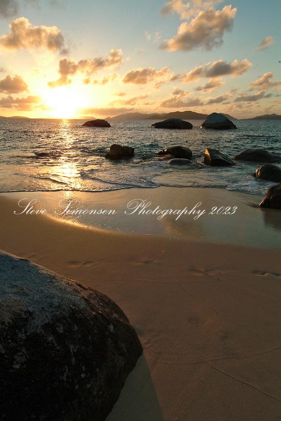 Little Trunk Bay<br /> near The Baths<br /> Virgin Gorda<br /> British Virgin Islands