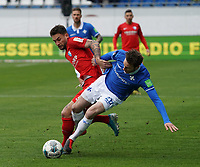 Matthias Bader (SV Darmstadt 98) gegen Danny Blum (VfL Bochum) - 07.03.2020: SV Darmstadt 98 vs. VfL Bochum, Stadion am Boellenfalltor, 2. Bundesliga<br /> <br /> DISCLAIMER: <br /> DFL regulations prohibit any use of photographs as image sequences and/or quasi-video.
