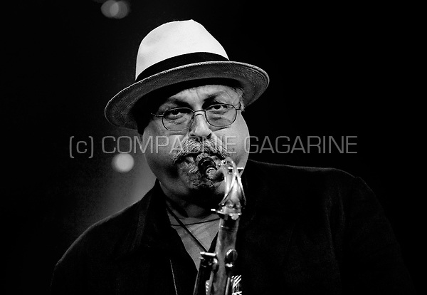 Joe Lovano with the Mc Coy Tyner trio at the Jazz Middelheim festival in Antwerp (Belgium, 12/08/2010)