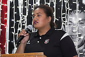 Steelers Manager Moana LeiluaCounties Manukau Rugby Unions Senior Prize giving held at ECOLight Stadium Pukekohe on Wednesday November 2nd, 2016.<br /> Photo by Richard Spranger.