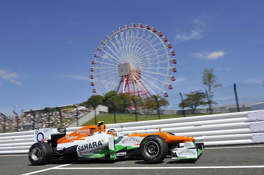 .Nico Huelkenberg (GER), Force India Formula One Team ..2012 FIA Formula One World Championship - Japanese Grand Prix - Suzuka Circuit - Suzuka - Japan - Friday 5th October 2012...