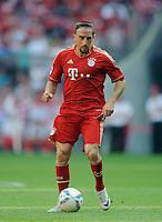 Fussball Bundesliga Saison 2011/2012 3. Spieltag FC Bayern Muenchen - Hamburger SV Franck RIBERY (FCB).