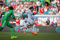 Jacksonville, Florida - Saturday, June 7, 2014: The USMNT lead Nigeria 1-0 at half time at EverBank Field.