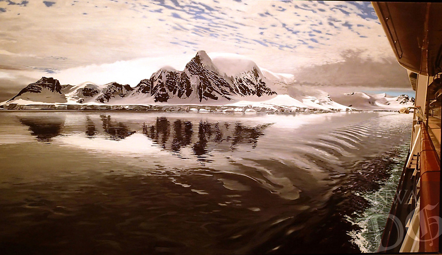 """Antarctica"" by Richard Estes."
