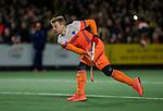 AMSTELVEEN - Mink van der Weerden (Ned) tijdens    de hockeyinterland Nederland-Ierland (7-1) , naar aanloop van het WK hockey in India.  COPYRIGHT KOEN SUYK