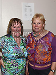 Maria Woods and Catherine Murray at the ceilí held in Duleek Parish Centre. Photo:Colin Bell/pressphotos.ie