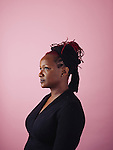 Producer Effie Brown poses for a portrait in Beverly Hills California February 16, 2016.<br /> <br /> Photo Credit: Brinson+Banks