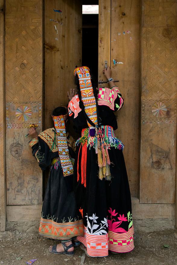 BUMBORET, PAKISTAN--JUNE 27, 2008--Kalash settlements, Kalash Valleys & Hellenic Aid projects including Bashiva(?) .CREDIT: JODI HILTON