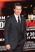 "Actor Tom Cruise. First World Premiere of the new Tom Cruise and Emily Blunt movie ""Edge of Tomorrow"" at the BFI IMAX cinema in London, United Kingdom. As the film is about reliving the events of one day over and over in an epic battle to save the world, the stars of ""Edge of Tomorrow"" take part in a worldwide event when, for the first time ever, three fan premieres will be held in three different countries in just one day."