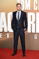 LONDON, UK. October 20, 2016: Aaron Ramsey at the premiere of &quot;Jack Reacher: Never Go Back&quot; at the Cineworld Empire Leicester Square, London.<br /> Picture: Steve Vas/Featureflash/SilverHub 0208 004 5359/ 07711 972644 Editors@silverhubmedia.com