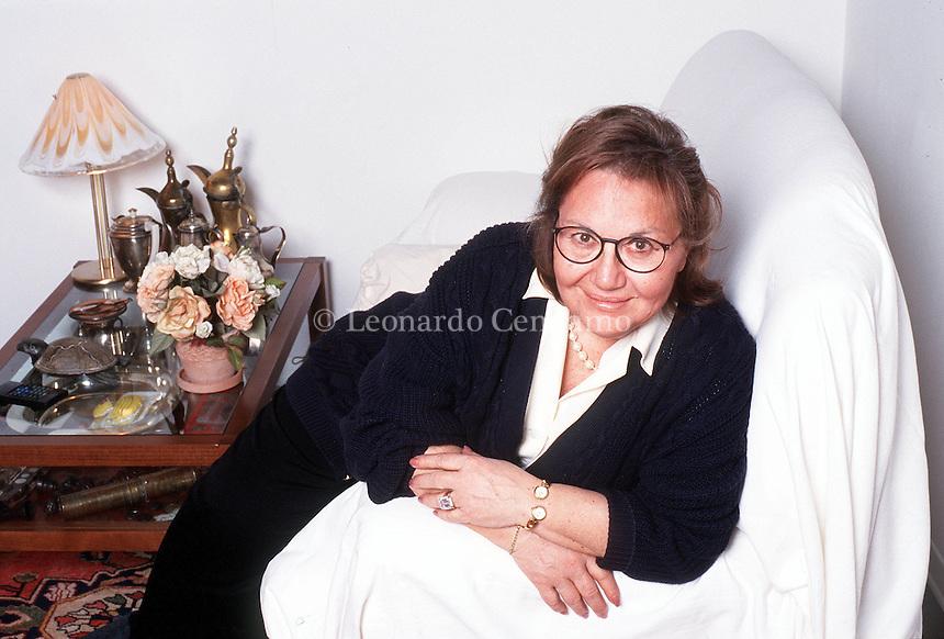 10 MAR 2000: MARIA VENTURI WRITER © Leonardo Cendamo