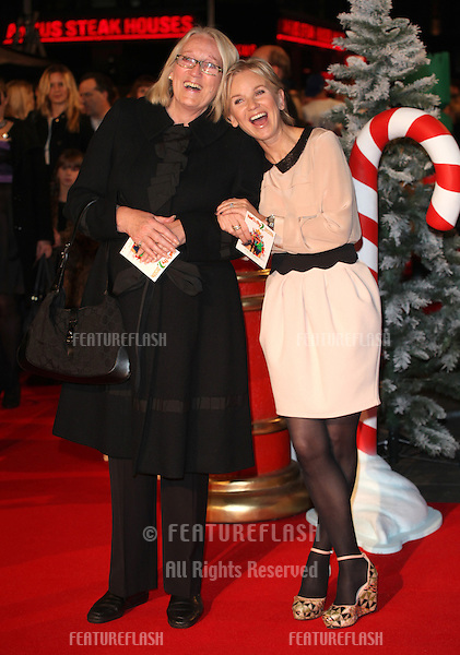 Lisa Maxwell and her mother arriving for the Nativity 2: Danger In The Manger Premiere, at Empire Leicester Square, London. 13/11/2012 Picture by: Alexandra Glen / Featureflash